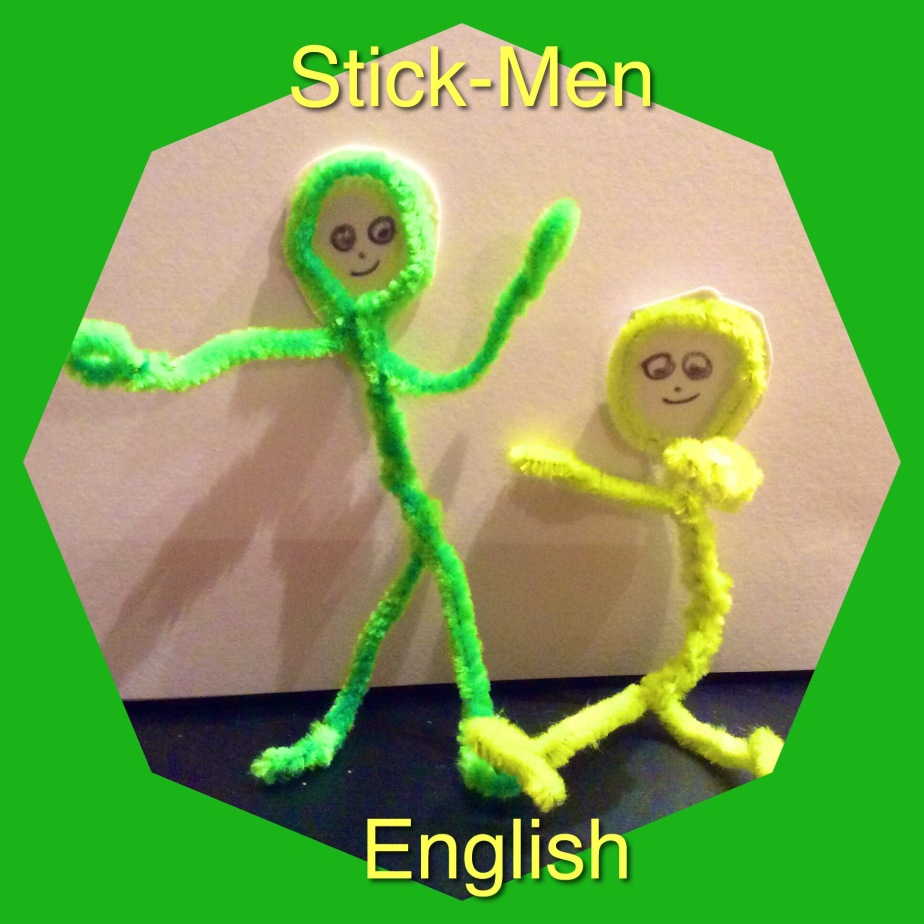 Learn the Vocabulary of  Movement with Stick=Men