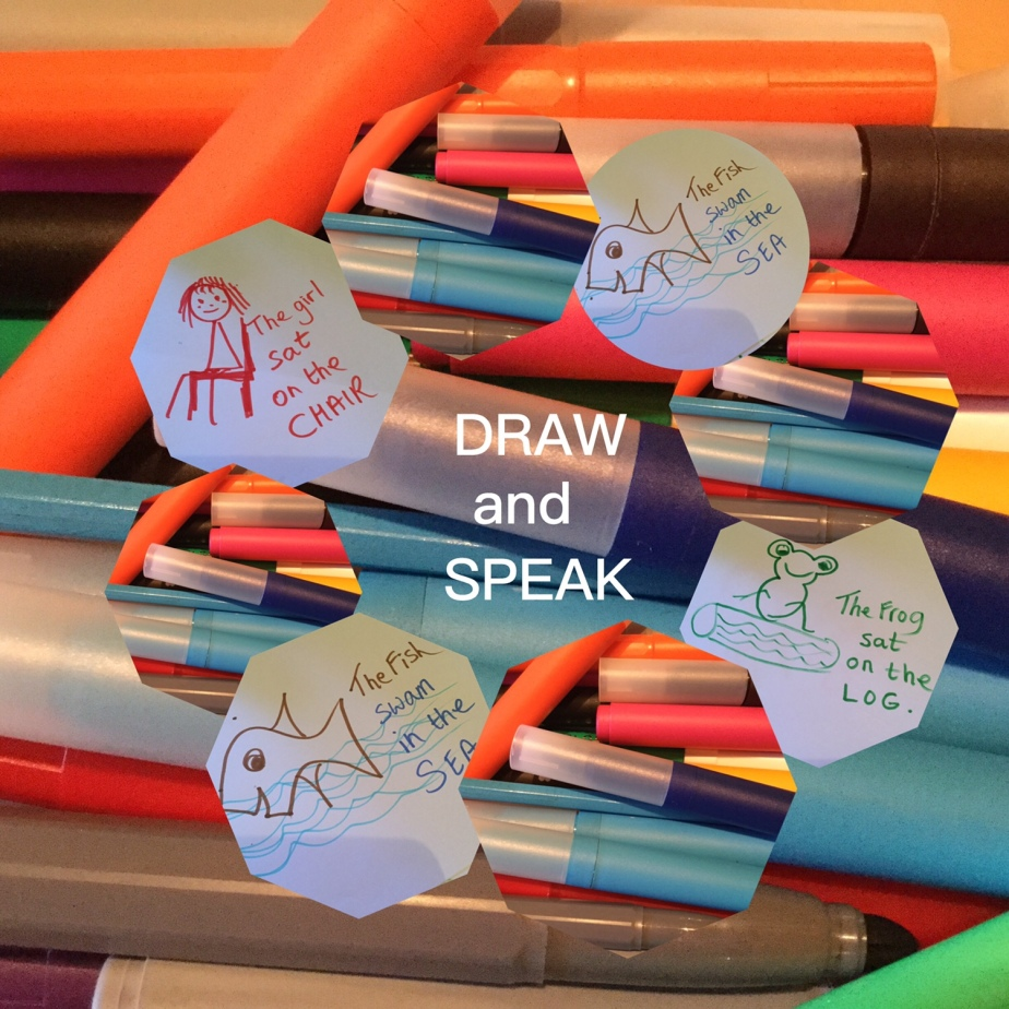 Draw and Speak English